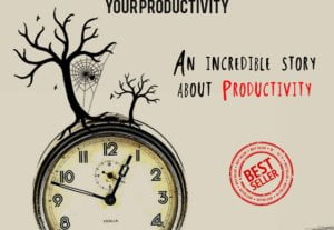 Kindle/Printed Book Cover Productivity (Full PSD)