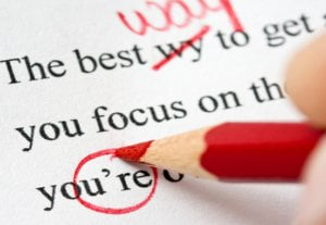 I will proofread your text written in English