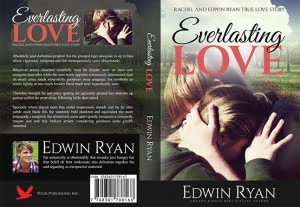 Print book cover – Love Novel – Full PSD